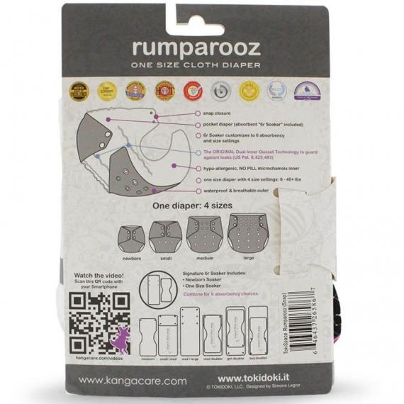 Многоразовый подгузник Rumparooz Onesize Kanga Care tokiSpace