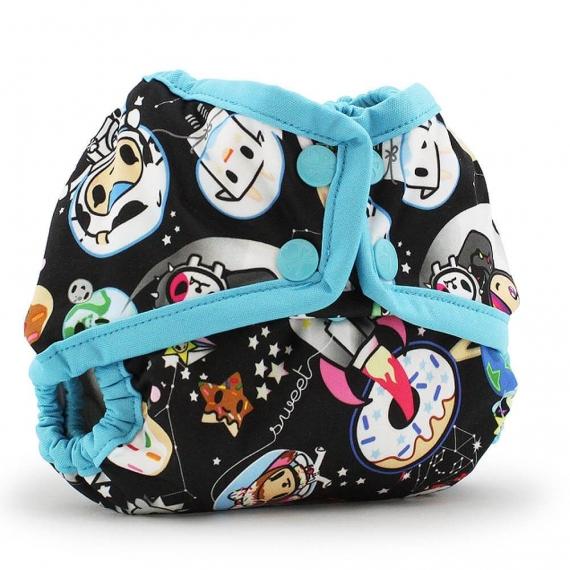 Подгузник для плавания Newborn Snap Cover Kanga Care tokiSpace/Aquarius