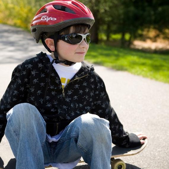 детские солнцезащитные очки Real Kids Shades от 7 до 12 лет 712XTRSBLKPURP