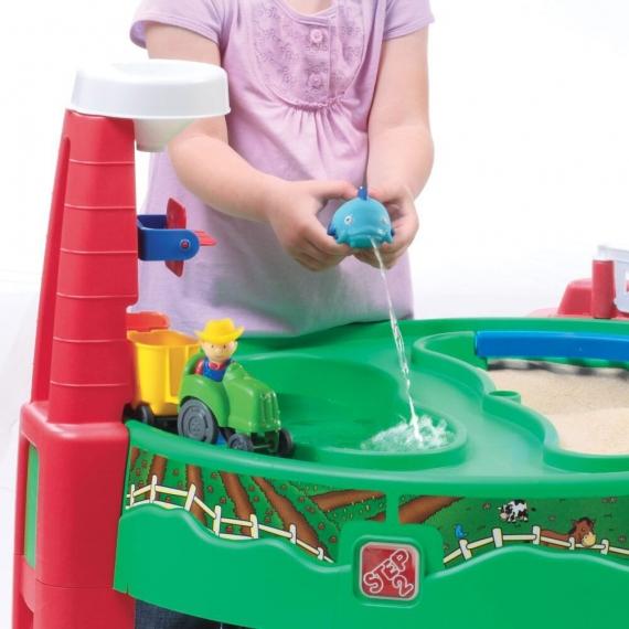 """Столик """"Карьер"""" для игр с песком и водой"""