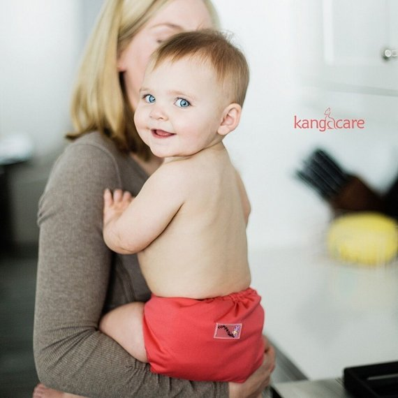 Обложка подгузник Newborn Aplix Cover Kanga Care Spice