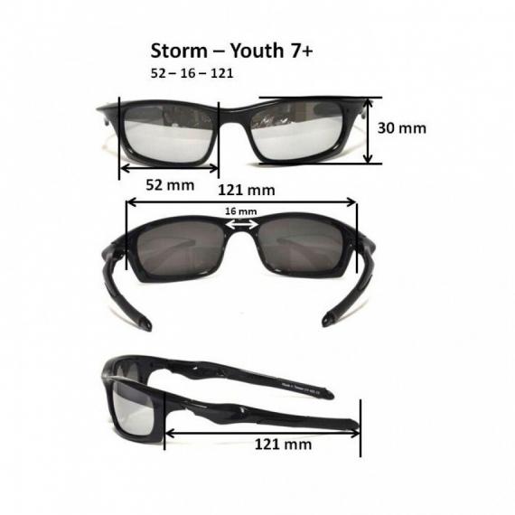 Детские солнцезащитные очки Real Kids 7+ Storm розовые