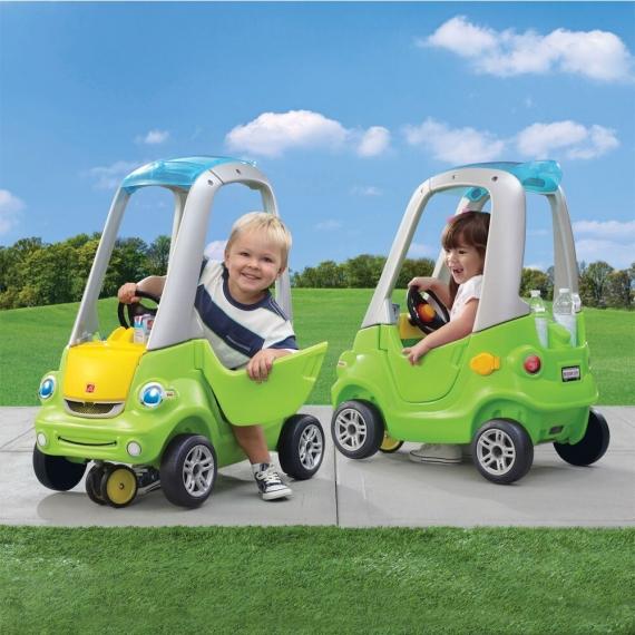 """Машинка """"Легкий поворот"""" зеленая"""