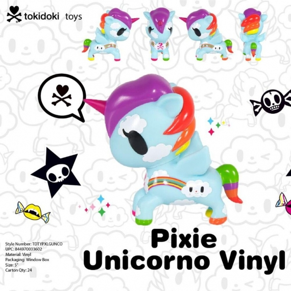 Коллекционная виниловая игрушка Tokidoki Unicorno Pixie