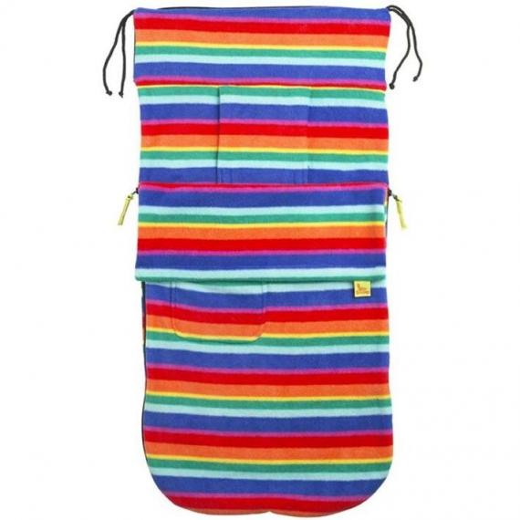 Флисовый конверт Buggysnuggle Bright Stripe Fleece