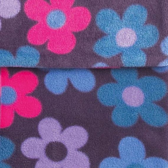 Флисовый конверт Buggysnuggle Grape Flower Fleece