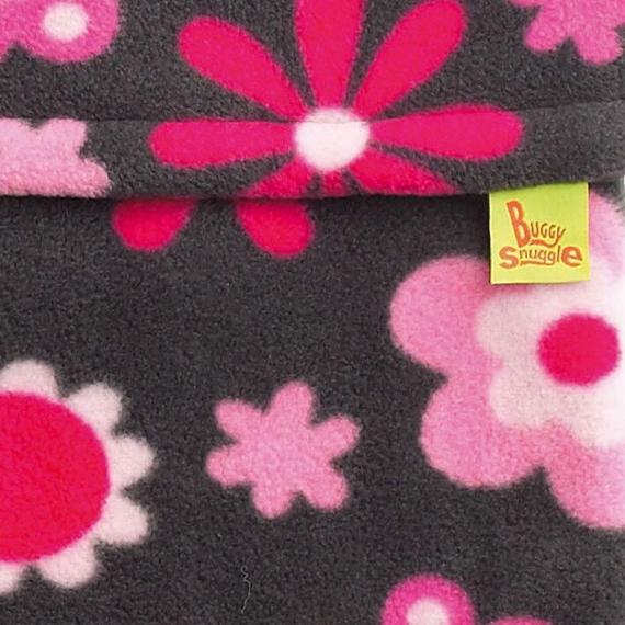 Флисовый конверт Buggysnuggle Crazy Flower Fleece