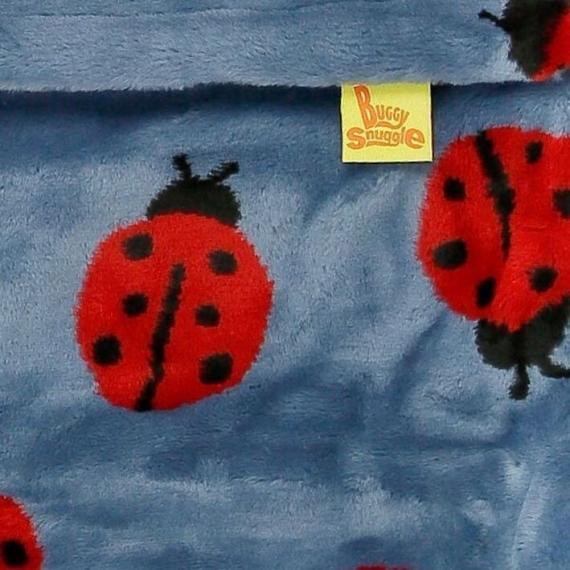 Конверт Buggysnuggle Ladybugs Storm /искусственный мех