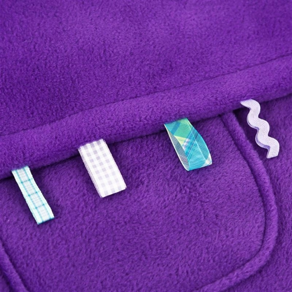 Флисовый конверт Buggysnuggle Toggles Electric Purple