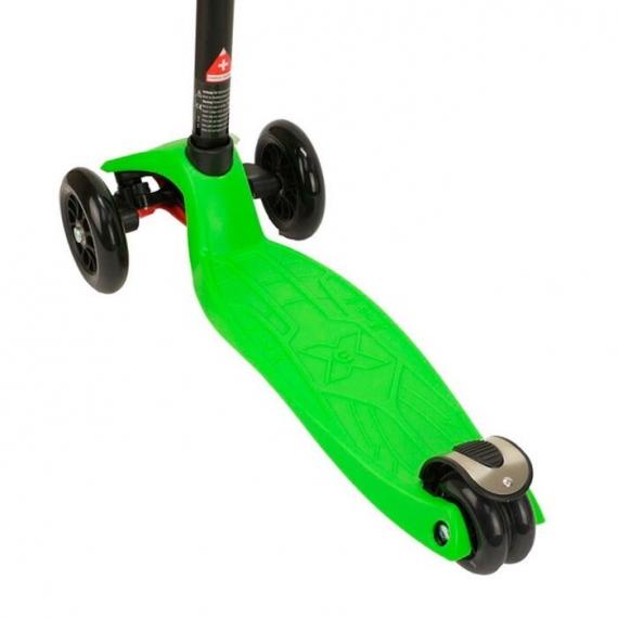 Самокат Maxi Micro T зеленый для детей от 5 до 12 лет