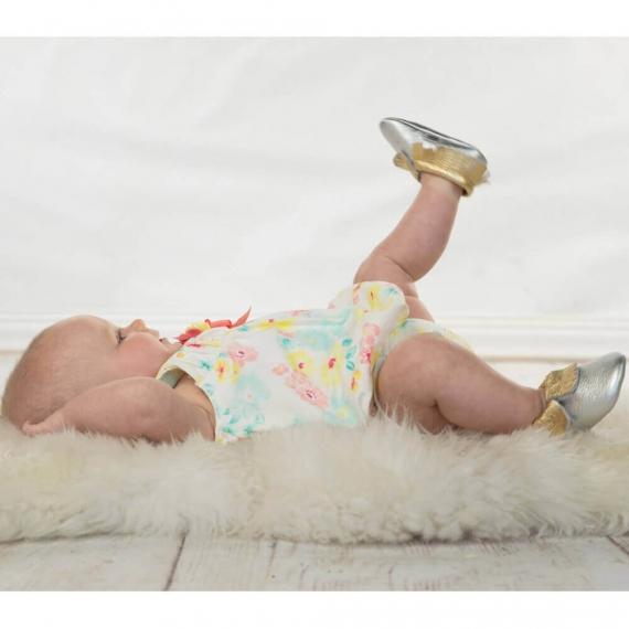 Детские мокасины Itzy Ritzy Blush Sparkle (размер 0-6 мес.)