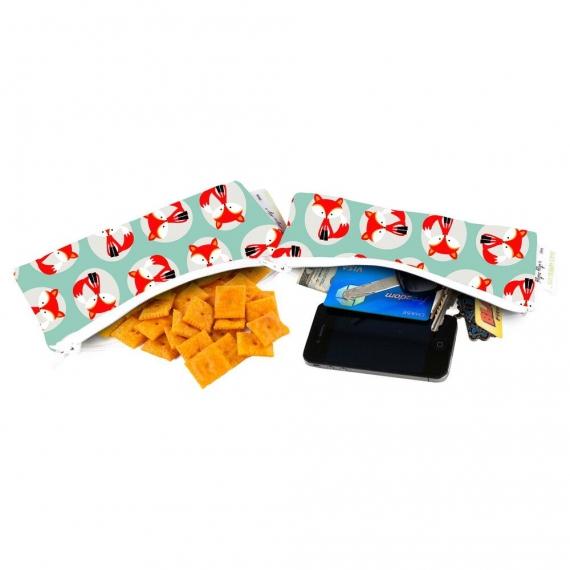 Сумочки ланч боксы 2 шт. Itzy Ritzy Snack Happens Mini Little Fox
