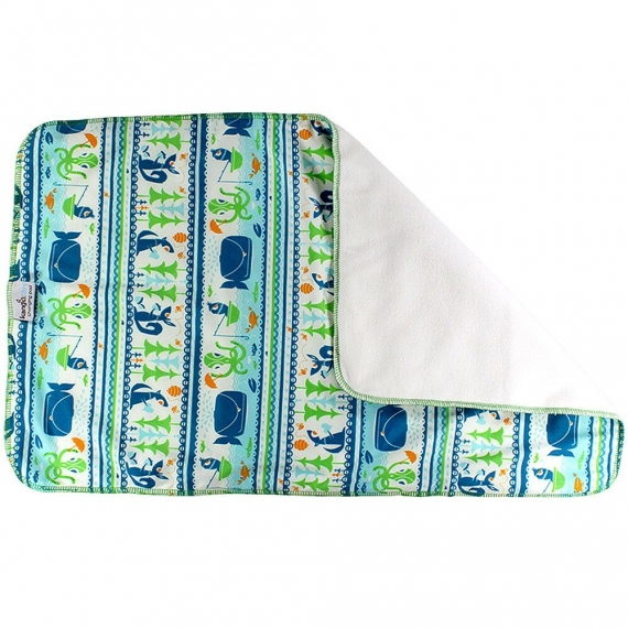 Пеленка Kanga Care Changing Pad Whale Tale