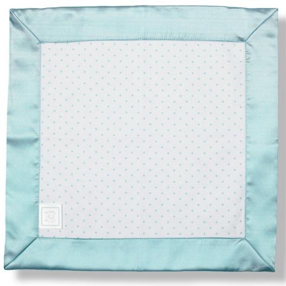 Комфортер платочек обнимашка Baby Lovie - Flannel SeaCrystal Dot