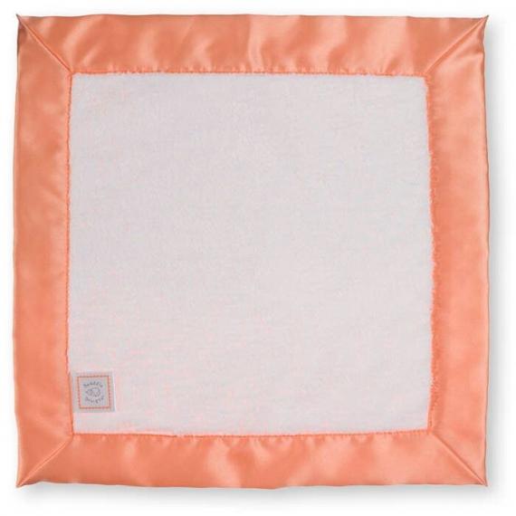 Комфортер платочек обнимашка Baby Lovie SwaddleDesigns плюшевая нежность WH w/Orange Satin