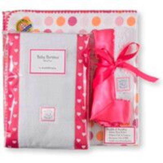 Подарочные наборы для новорожденных SwaddleDesigns Dots & Hearts, Stars, Suns