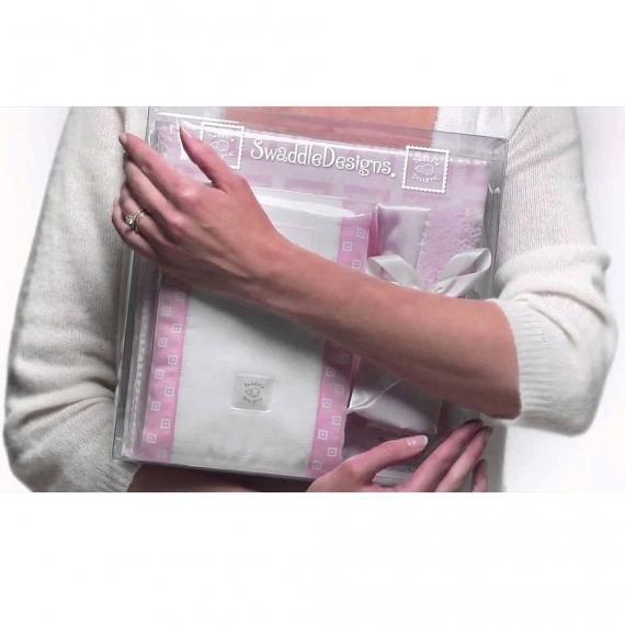Подарочный набор для новорожденного Gift Set Fuchsia Dot/Heart