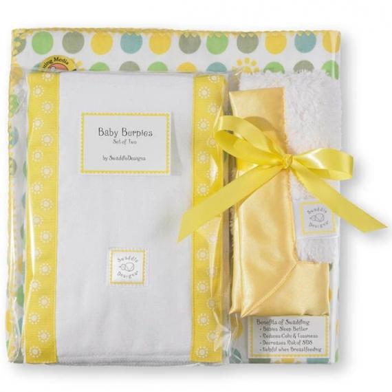 Подарочный набор для новорожденного Gift Set Yellow Sun/Dot