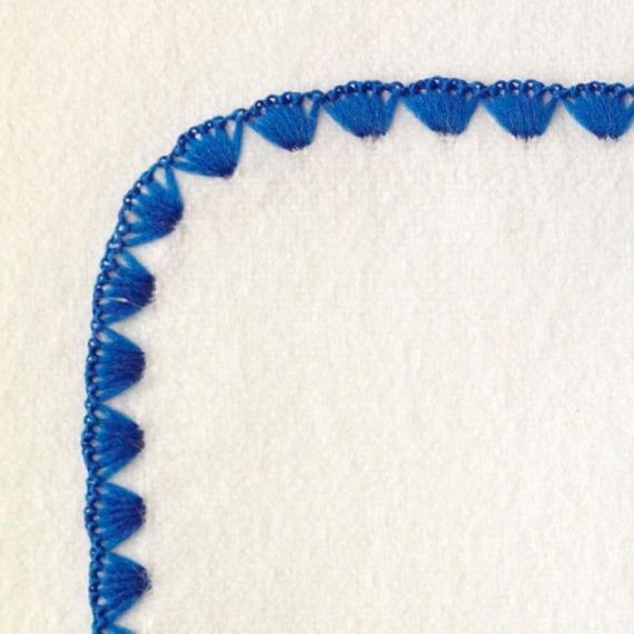 Фланелевая пеленка OrganicIV w/Skipper Blue