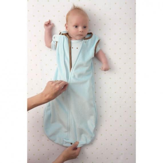 Детский спальный мешок SwaddleDesigns zzZipMe 12-18 М PP Baby Velvet/PP
