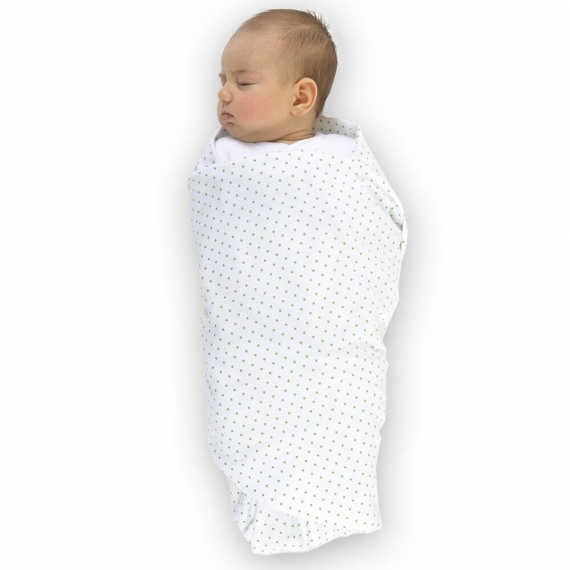Набор пеленок SwaddleDesigns Swaddle Duo Pstl Blue Classic