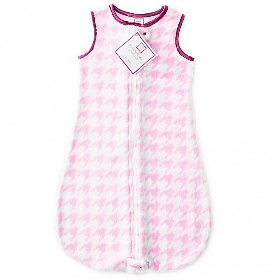 Детский спальный мешок SwaddleDesigns zzZipMe Pink Puppytooth