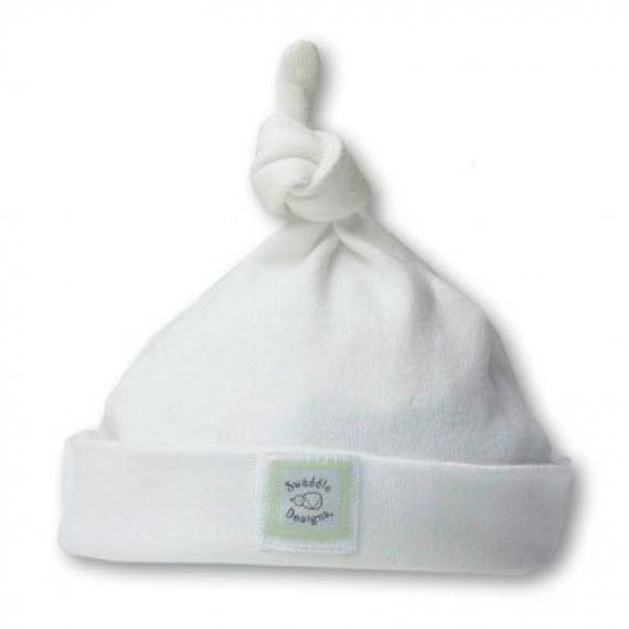 Шапочка Knotted Hat w/Logo WHIte Kiwi Dots