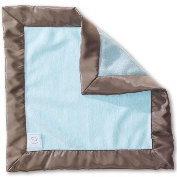 Платочек обнимашка Baby Lovie-плюшевая нежность Pstl Blue w/TG
