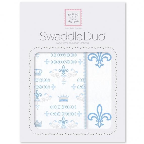 Набор пеленок SwaddleDesigns Swaddle Duo Fleur de Lis