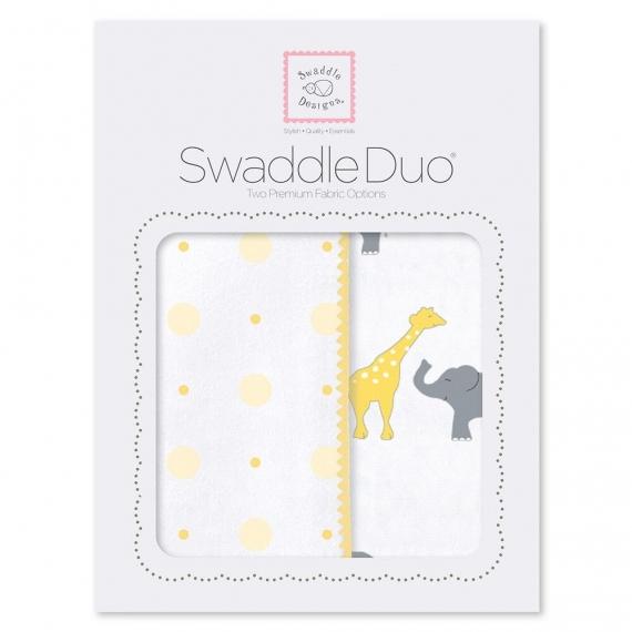 Набор пеленок SwaddleDesigns Swaddle Duo YW Circus Fun