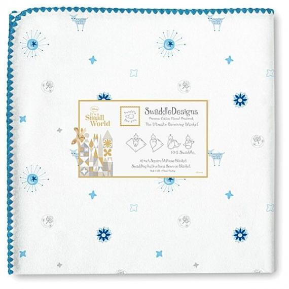 Пеленка фланель для новорожденного SwaddleDesignsSun/Lamb PB SW