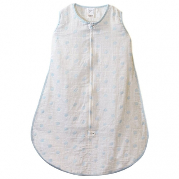 Спальный мешок Muslin zzZipMe Sack Blue Dots