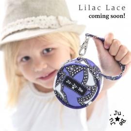 Сумочка для пустышек Ju-Ju-Be Paci Pod lilac lace