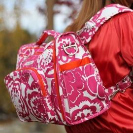Сумка рюкзак для мамы Ju-Ju-Be B.F.F. fuchsia blossums