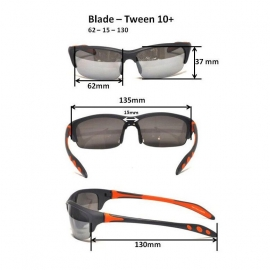 Очки для взрослых и подростков Blade черные