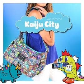 Сумка для мамы Ju-Ju-Be HoboBe Tokidoki Kaiju City
