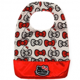 Слюнявчик Ju-Ju-Be Be Neat Hello Kitty peek a bow