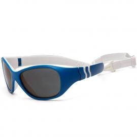 b2de65b487b1 Солнечные очки для малышей Real Kids Adventure 2-4 года синий белый
