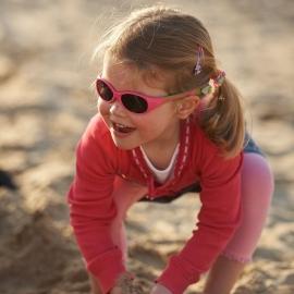 Детские солнцезащитные очки Real Kids Explorer 2-4 года розовый/лайм