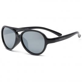 Детские солнцезащитные очки Real Kids серия Авиатор 2-4 года черные