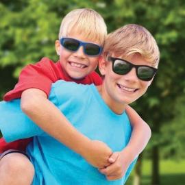 Детские солнцезащитные очки Real Kids Серф 2-4 года черные