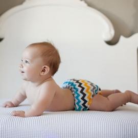 Подгузник для плавания Newborn Snap Cover Kanga Care Charlie