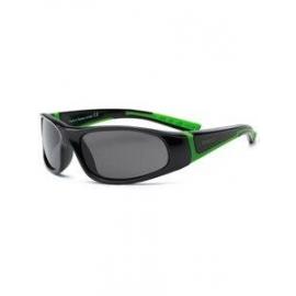 Детские солнцезащитные очки с поляризацией Real Kids Bolt 4+ черный/красный