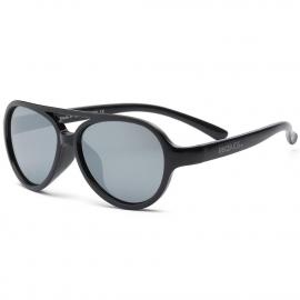 Детские солнцезащитные очки Real Kids Авиатор 4+ черные