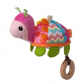 """Развивающая игрушка """"Черепашка с розовым платочком"""" infantino"""