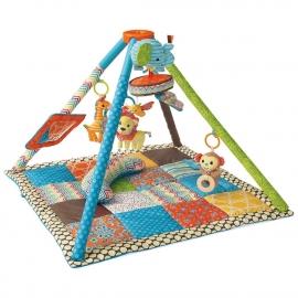 Музыкальный коврик с компактным сложением Twist&Fold Африка infantino