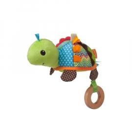 """Развивающая игрушка """"Черепашка с голубым платочком"""" infantino"""