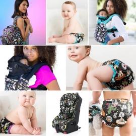 Подгузник для плавания Newborn Snap Cover Kanga Care tokiSpace/Orchid