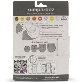 Многоразовый подгузник Rumparooz Onesize Kanga Care tokiCorno