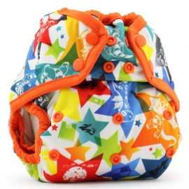 Подгузник для плавания One Size Snap Cover Kanga Care Dragons Fly/Poppy